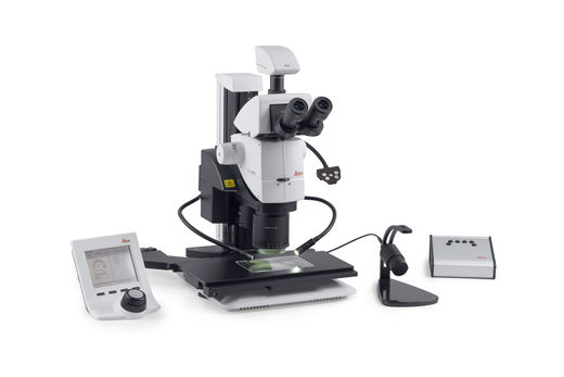 Leica LMT260 XY Scanning Stage